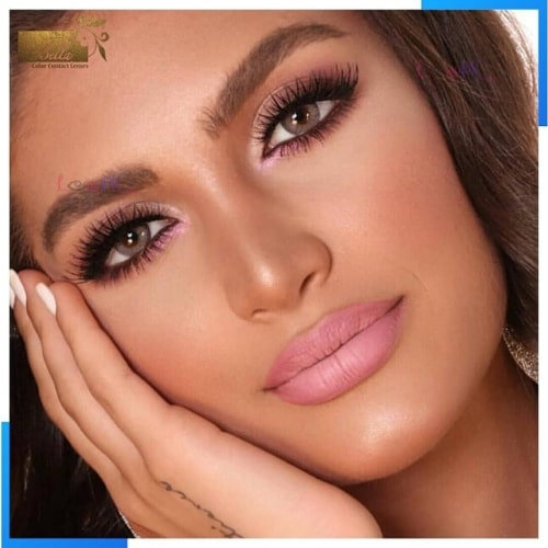 Buy Bella Radiant Brown Contact Lenses in Pakistan – Glow Collection - lenspk.com