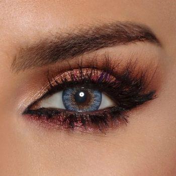 Buy Bella Vivid Blue Contact Lenses - Glow Collection - lenspk.com