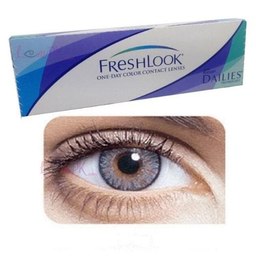 Buy Freshlook Gray Contact Lenses - One-Day - lenspk.com