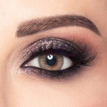 Brown Gold amara contact lenses