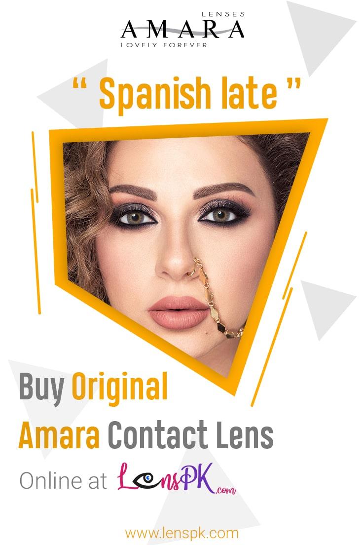 Spanish Latte amara lenses
