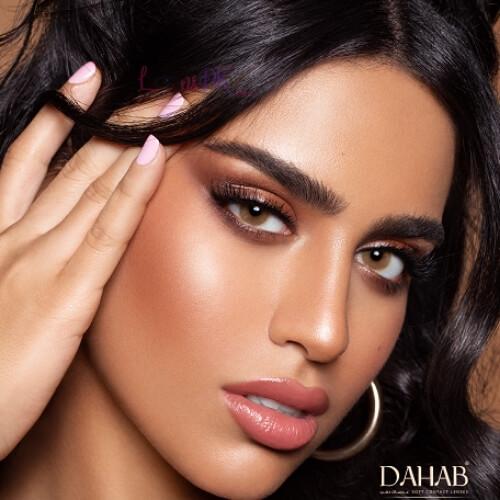 Buy Dahab Creamy Contact Lenses - Gold Collection - lenspk.com