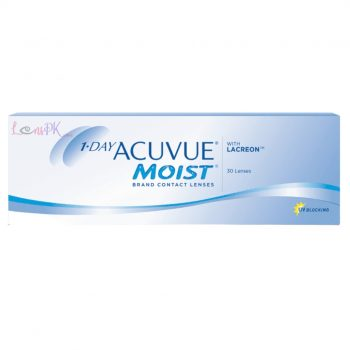 Acuvue Moist 1-Day Lenses By Johnson & Johnson