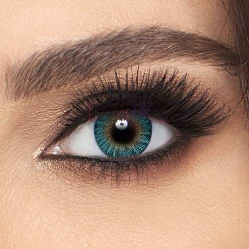 Buy Freshlook Turquoise Contact Lenses - ColorBlends Collection - lenspk.com