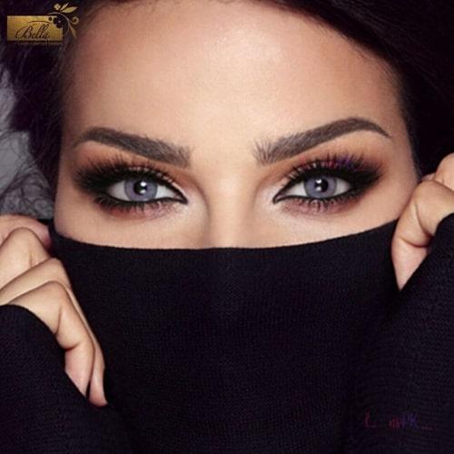 Buy Bella Lanvander Gray Contact Lenses - Elite Collection - lenspk.com