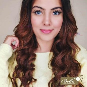 Buy Bella Natural Cool Blue Contact Lenses in Pakistan – Natural Collection - lenspk.com