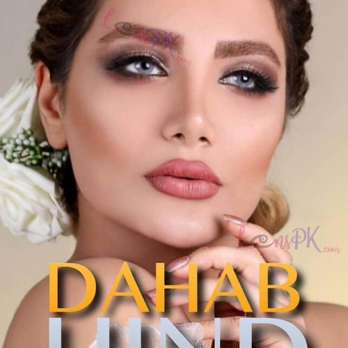 Buy Dahab Hind Contact Lenses in Pakistan – Gold Collection - lenspk.com
