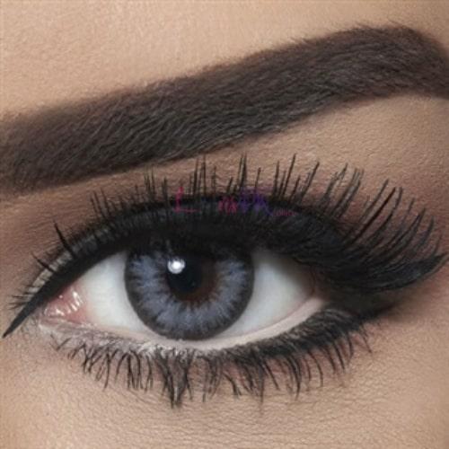 Bella Glitter Gray Contact Lenses – Diamond Collection - lenspk.com