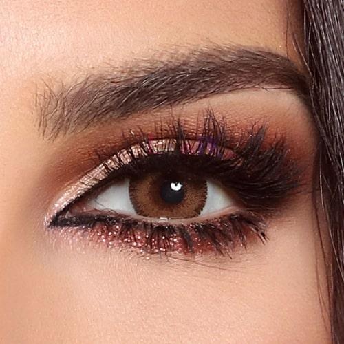 Buy Bella Radiant Brown Contact Lenses - Glow Collection - lenspk.com