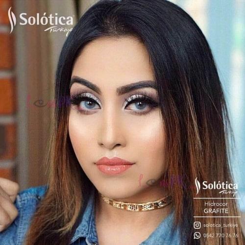 Buy Solotica Grafite Contact Lenses in Pakistan – Hidrocor - lenspk.com
