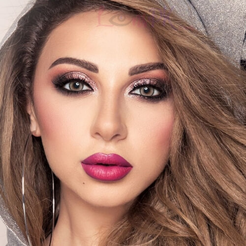 Buy Amara Hazel Wood Eye Contact Lenses in Pakistan @ Lenspk.com