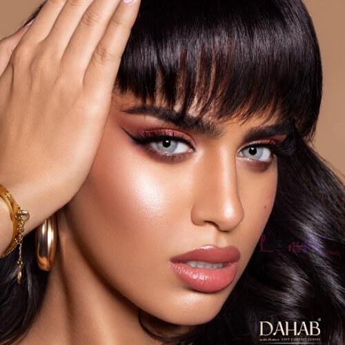 Buy Dahab Lumirere Gray Contact Lenses - Gold Collection - lenspk.com